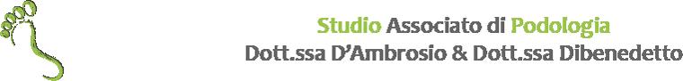 Studio associato di podologia dott.ssa D'Ambrosio e dott.ssa Dibenedetto Logo