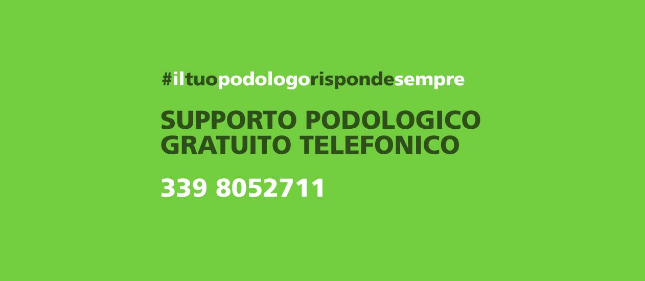 supporto podologico gratuito telefonico